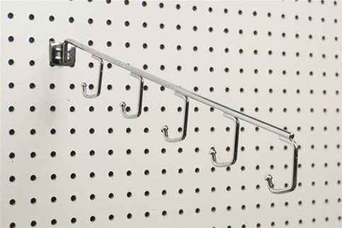 Faceout For Pegboard Waterfall 5 Hook