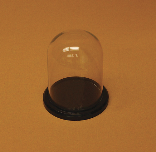 Glass Domes with Acrylic .         Categ  16-91