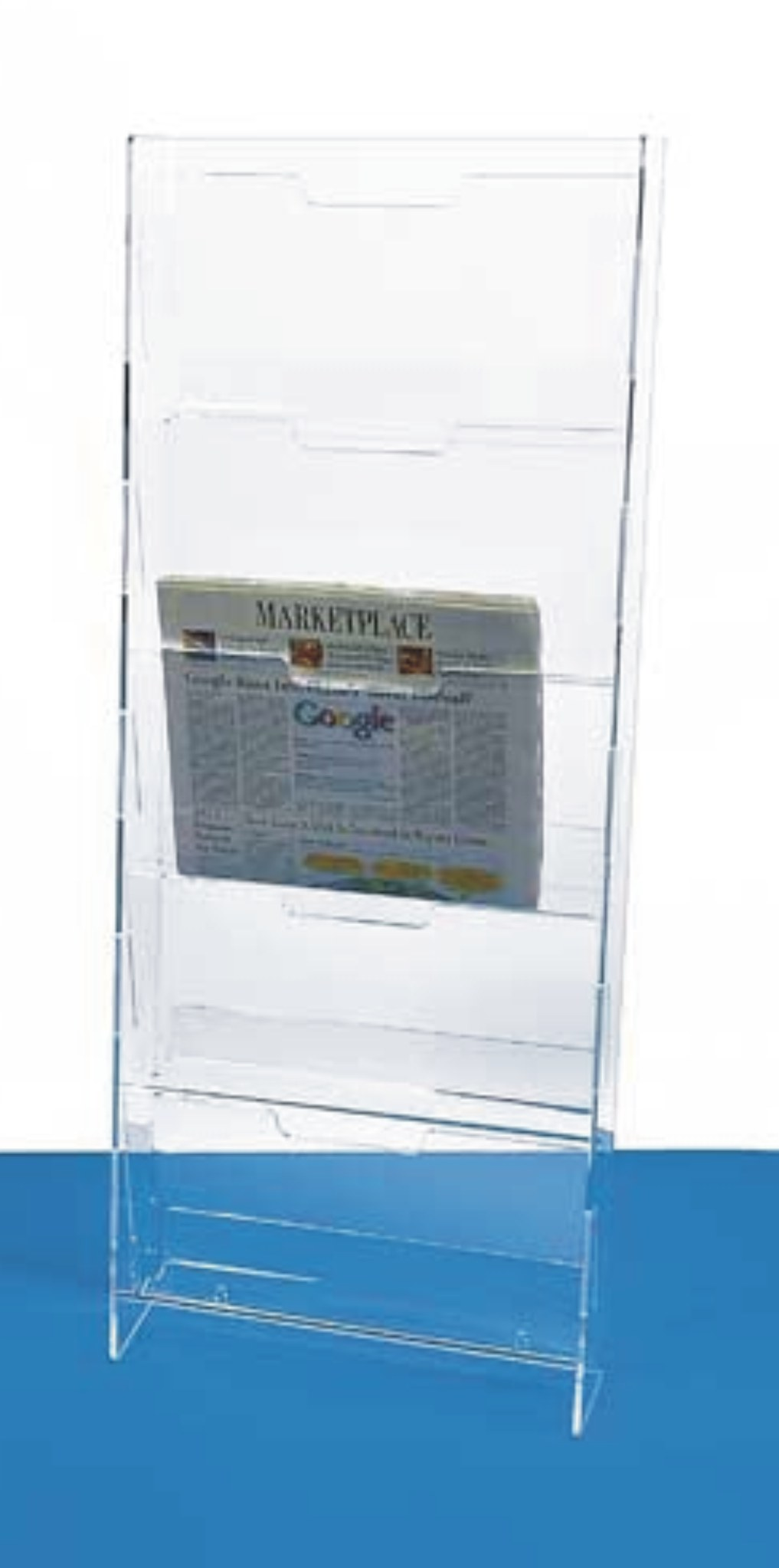 Wall-Mounting Newspaper Rack.         Categ  12-102